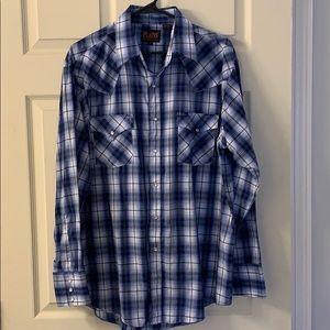 Men's button down long sleeve shirt